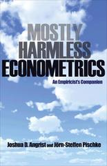 Mostly Harmless Econometrics 1st Edition 9780691120355 0691120358