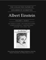 The Collected Papers of Albert Einstein, Volume 9 0 9780691120881 0691120889