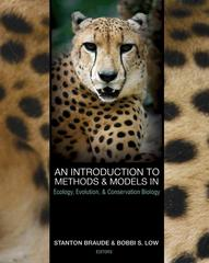 An Introduction to Methods and Models in Ecology, Evolution, and Conservation Biology 1st Edition 9780691127248 0691127247