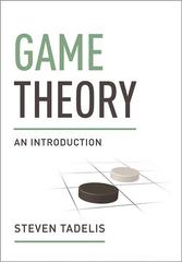 Game Theory 1st Edition 9780691129082 0691129088