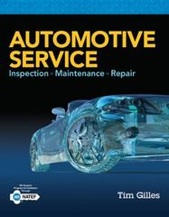 Automotive Service 5th Edition 9781305110595 1305110595