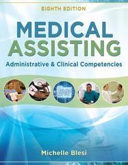 Medical Assisting 8th Edition 9781305110700 1305110706