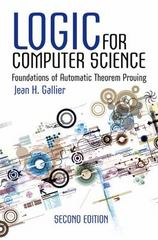 Logic for Computer Science 2nd Edition 9780486780825 0486780821