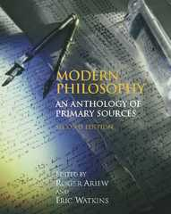 Modern Philosophy 2nd Edition 9781603843225 1603843221