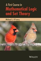 A First Course in Mathematical Logic and Set Theory 1st Edition 9780470905883 0470905883
