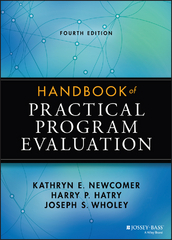 Handbook of Practical Program Evaluation 4th Edition 9781118893609 1118893603