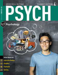 PSYCH (with Online, 1 term (6 months) Printed Access Card) 4th Edition 9781305091924 1305091922