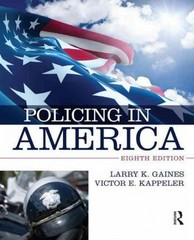 Policing in America 8th Edition 9780323311489 0323311482