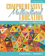 Comprehensive Multicultural Education 8th Edition 9780133831023 0133831027