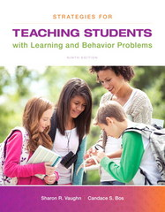 Strategies for Teaching Students with Learning and Behavior Problems 9th Edition 9780133571066 0133571068