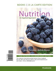 Nutrition 4th Edition 9780321969187 0321969189