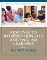 Response to Intervention (RTI) and English Learners 2nd Edition 9780133431070 013343107X