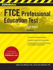 CliffsNotes FTCE Professional Education Test 3rd Edition 1st Edition 9780544309333 0544309332