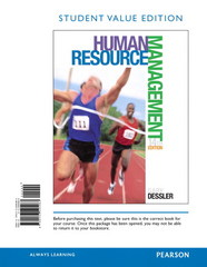 Human Resource Management, Student Value Edition Plus 2014 MyManagementLab with Pearson eText -- Access Card Package 14th Edition 9780133791594 0133791599