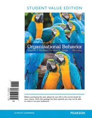 Organizational Behavior, Student Value Edition Plus 2014 MyManagementLab with Pearson eText -- Access Card Package 16th Edition 9780133792386 0133792382