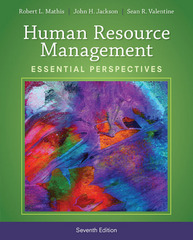 Human Resource Management 7th Edition 9781305115248 1305115244