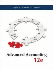 Advanced Accounting 12th Edition 9780077862220 0077862228