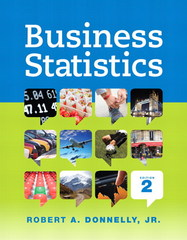 Business Statistics 2nd Edition 9780321925121 0321925122