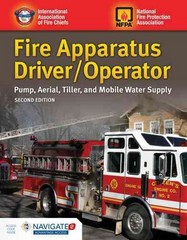 Fire Apparatus Driver/Operator 2nd Edition 9781284026924 1284026922
