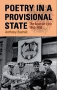 Poetry in a Provisional State 0 9780708320808 0708320805