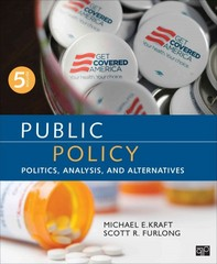 Public Policy 5th Edition 9781483345789 1483345785