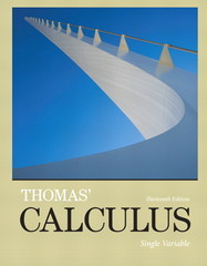 Thomas' Calculus, Single Variable plus MyMathLab with Pearson eText -- Access Card Package 13th Edition 9780321953124 0321953126