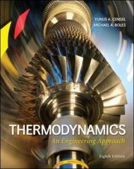 Thermodynamics 8th Edition 9780073398174 0073398179