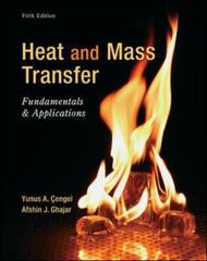 Heat and Mass Transfer 5th Edition 9780073398181 0073398187
