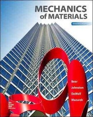 Mechanics of Materials 7th Edition 9780073398235 0073398233