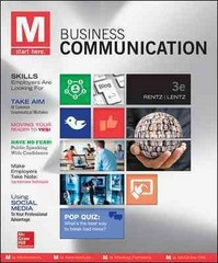 M: Business Communication 3rd Edition 9780073403229 0073403229