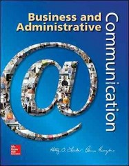 Business and Administrative Communication 11th Edition 9780073403250 0073403253