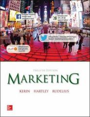 Marketing 12th Edition 9780077861032 0077861035