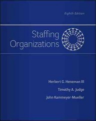 Staffing Organizations 8th Edition 9780077862411 0077862414