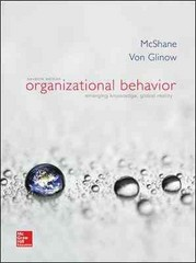 Organizational Behavior 7th Edition 9780077862589 0077862589