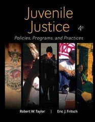 Juvenile Justice 4th Edition 9780078026560 0078026563