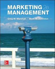 Marketing Management 2nd Edition 9780078028861 0078028868