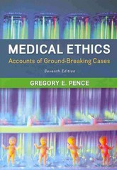 Medical Ethics 7th Edition 9780078038457 0078038456