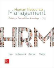 Human Resource Management 9th Edition 9780078112768 0078112761