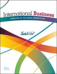 International Business 10th Edition 9780078112775 007811277X