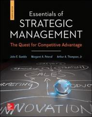 Essentials of Strategic Management 4th Edition 9780078112898 0078112893