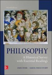 Philosophy 9th Edition 9780078119095 007811909X