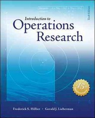 Introduction to Operations Research with Access Card for Premium Content 10th Edition 9781259162985 1259162982