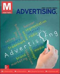 M: Advertising with Connect Plus 2nd Edition 9781259280603 1259280608