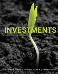 Fundamentals of Investments 7th Edition 9780077861636 0077861639