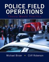 Police Field Operations 2nd Edition 9780133599381 0133599388