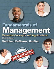 Fundamentals of Management 9th Edition 9780133773217 0133773213