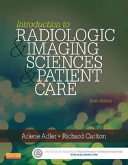 Introduction to Radiologic and Imaging Sciences and Patient Care 6th Edition 9780323315791 0323315798