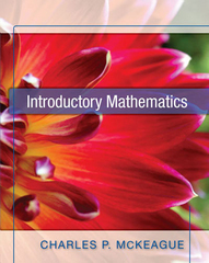Introductory Mathematics 1st Edition 9781936368044 1936368048