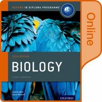 IB Biology Online Course Book:  2014 Edition 1st Edition 9780198307716 0198307713