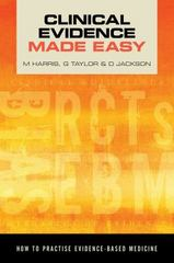 Clinical Evidence Made Easy 1st Edition 9781907904202 1907904204